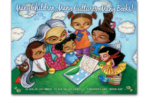 Many Children, Many Cultures Dia Poster art by Maya Gonzalez