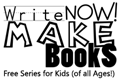 Write Now! Make Books - free series for kids