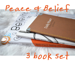 Peace & Belief 3 Book Set