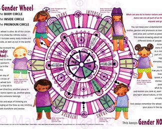 The Gender Wheel Poster