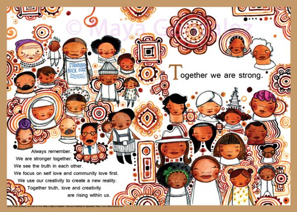 Stronger Together Poster - from the Book When a Bully is President