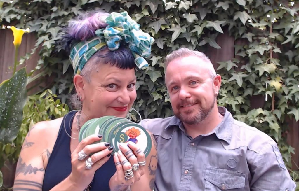 Maya and Matthew, parents, co-founders of Reflection Press and creators of Playing with Pronouns