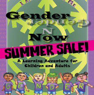 The Gender Now Coloring Book - SALE COPIES!
